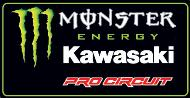 Monster Energy Kawasaki Pro Circuit Racing Sponsor